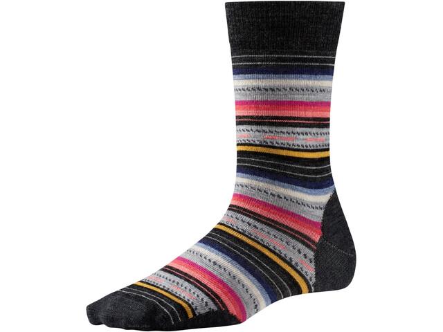 Smartwool Margarita Socks Damen charcoal stripe